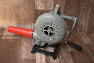 Vintage Furnace With Hand Blower Vintage Style Pedal Type Handle Blacksmith