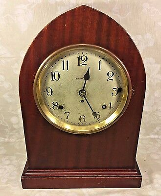 Vintage Seth Thomas Sonora #14 5 Bell Chime Clock Beehive Case Runs