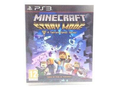 Juego Ps3 Minecraft Story Mode Ps3 4587733