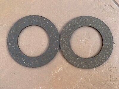 2 PCs PTO slip clutch Friction Discs for Terrain King rotary cutters (414)