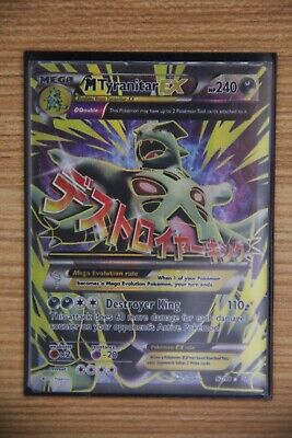 Mega Tyranitar EX 92//98 Ancient Origins Rare Ultra Mint Pokemon Card