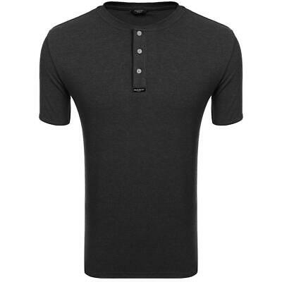 21517c347f4 New Men Fashion Casual Slim Ribbed Henley Shirts Short Sleeve Solid S5DY 02