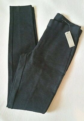 J Crew womens Pixie pant leggings hthr charcoal 00 small #31090 $98 Fitted