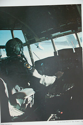 US Air Force PILOT military aerial refueling aircraft PRINT17x23 poster AIRPLANE