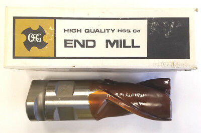 """NEW! NACHI GL40 1-1//4/"""" END MILL 2 FLUTE EXTENSION LONG"""