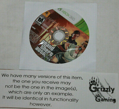 USED Grand Theft Auto 5 Microsoft XBOX 360 (Disc Only)