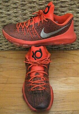 cheap for discount 5437a 42b55 Nike Kd Kevin Durant 749375-610 Men s Bright Crimson Basketball Shoes Size  13