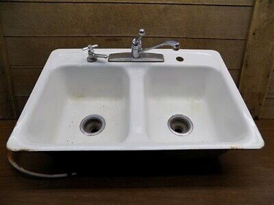 Vintage Style Deep Utility Sink Antique Inspired High Back