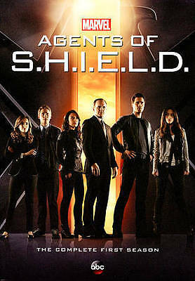 Agents of S.H.I.E.L.D.: The Complete First Season (DVD, 2014, 5-Disc Set) SHIELD