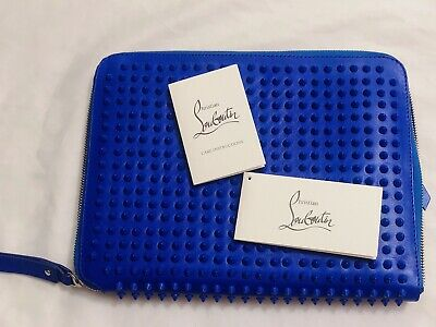 5bb2a861a44 CHRISTIAN LOUBOUTIN PALOMA Clutch Spiked Leather - $815.00 | PicClick