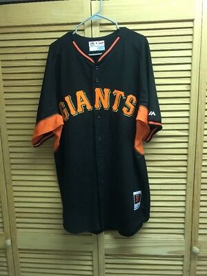 2aea97572 AUTHENTIC MAJESTIC SZ 52 San Francisco Giants BUSTER POSEY COOL BASE ...