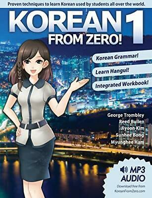 KOREAN FROM ZERO! 1: Master the Korean Language and Hangul