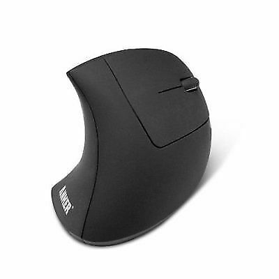 *NEW* Anker 2.4G Wireless Vertical Ergonomic Optical Mouse, USB, 5 Buttons Black