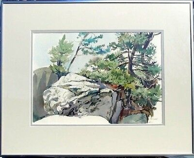 Well Listed Vaughan Ontario Canadian Artist Stan Sellen Landscape Painting Wow!