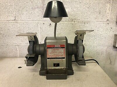 Vintage Craftsman 8 Amp Bench Grinder Arbor Shaft Wheel