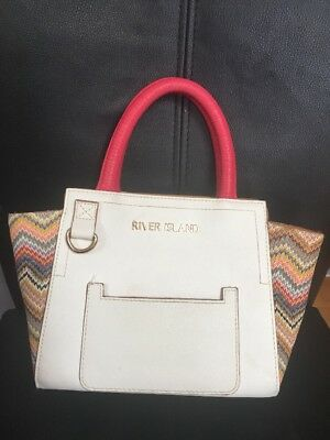River Island Small Hand Held Knit Style lovely  Bag