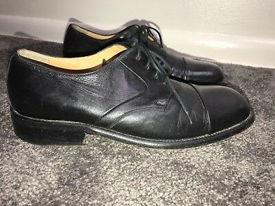 78ca7096b5c  450 Vintage Bally ROCKABILLY Men s Leather Cap Toe Oxford Dress Shoes Size  7