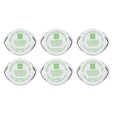 Eminence Blueberry Soy Repair Masque SAMPLEs set of 6 SAMEDAY SHIP