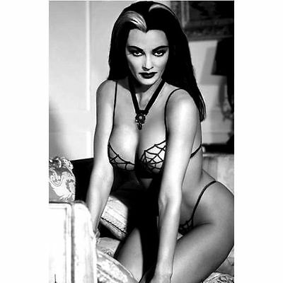 Lily Munster Sexy Refrigerator School Locker Tool Box Glossy Magnet Christmas
