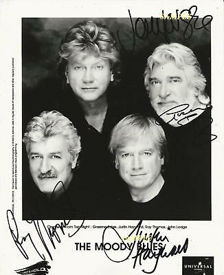 Moody Blues Band Reprint Autographed 8X10 Signed Picture Photo Collectible Rp