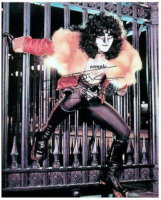 Eric Carr Reprint Autographed 8X10 Signed Picture Photo Collectible Kiss Band Rp