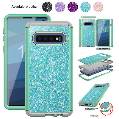 For Samsung S10 Plus S10e Case Luxury Heavy Duty Rubber Shockproof Bumper Cover