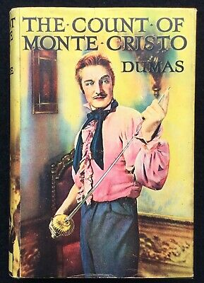 The Count of Monte Christo Ward Lock Reliance Film Edition in Dust Wrapper