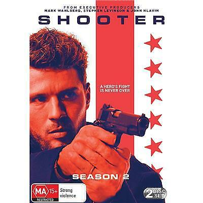Shooter Season 2 Dvd, New & Sealed, 2019 Release, Free Post