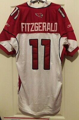 Nice NEW NIKE NFL Stitched Color Rush Arizona Cardinals Fitzgerald Jersey  for cheap
