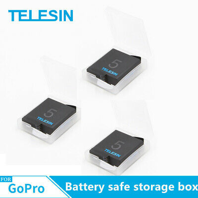 TELESIN Battery Safe Storage Box For Gopro 7/6/5/4 Battery Action Sports camera
