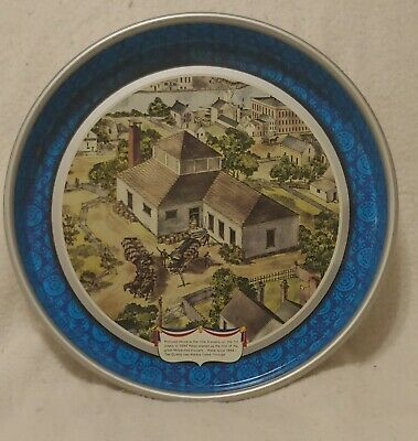 Vintage Pabst Blue Ribbon Metal Beer Tray 1976 Bicentennial PBR Rare Collectable
