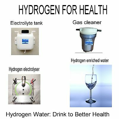 HYDROGEN WATER   Drink to Better Health   HHO  GENERATOR WATER SET FOR HOME