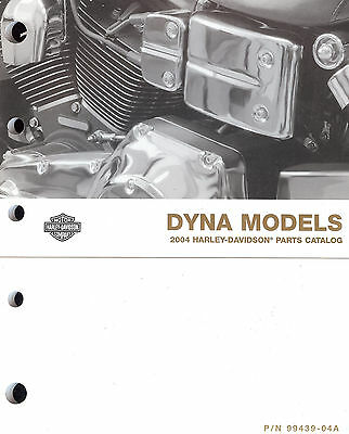 2004 Harley-Davidson Dyna Models Parts Catalog Manual -Fxd-Fxdl-Fxdx-Fxdwg