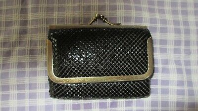 Vintage Black Mesh Ladies Wallet,LOVELY,mesh all good