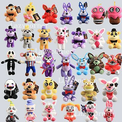 New Five Nights at Freddy's & Sister Clown Foxy Plush Dolls Kids Plushie Toys