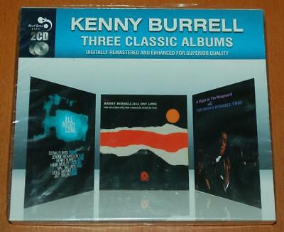 Kenny Burrell - Three Classic Albums - 2011 Sealed Double CD