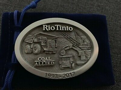 Belt Buckle Mining - Rio Tinto/Coal & Allied