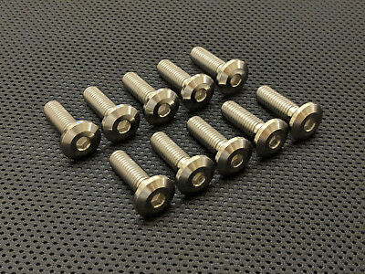 BMW S1000R Titanium Front Disc Bolts 13-17 Ti Disc Mount Bolts