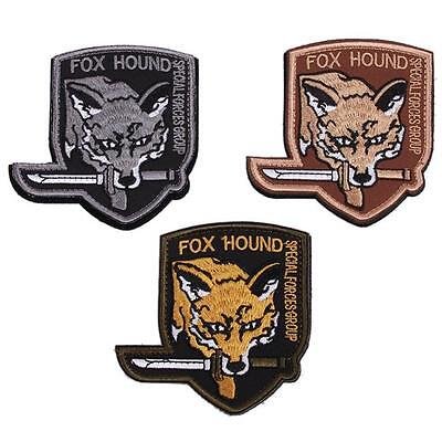 Unisex Fox Hound Special Force Group Set of 2 Embroidered Armband Patch CS