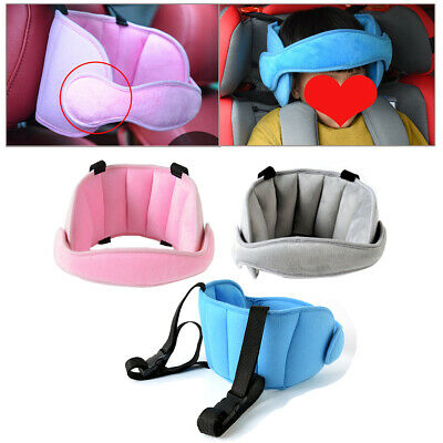 Car SUV Seat Safety Headrest Baby Kids Travel Pillow Sleeping Head Support Pad