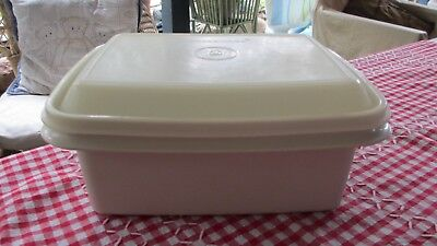 Vintage Tupperware Freeze n Save for ice cream or storage home made ice cream