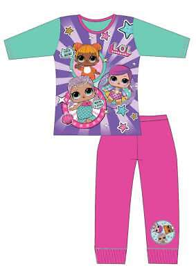 Childrens Official LOL Surprise Dolls Pyjamas pjs sleepwear Age 4-5 to 9-10