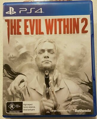 PlayStation 4 PS4 Game: THE EVIL WITHIN 2 ! PERFECT CONDITION ! CHEAP!