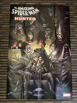 Amazing Spider-Man #17 Hunted Poster By Ramos - 24X36 - Folded