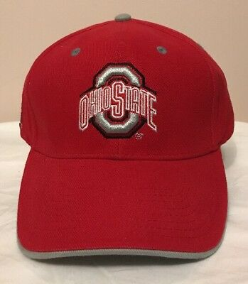 finest selection 03d21 88e09 Nwot Ohio State Buckeyes Ncaa Signature Brand Red O Adjustable Hat
