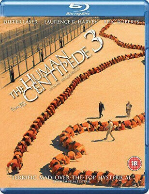 The Human Centipede 3 - Final Sequence [Blu-ray], DVD, New, Sealed