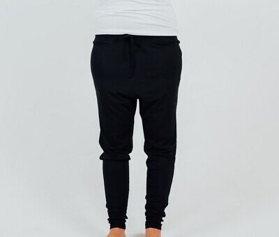 BLACK BAMBOO LOUNGE PANTS XS, S or L Maternity or Beyond, Winter, FREE POST