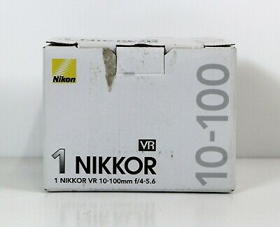 Nikon 1 Nikkor VR 10-100mm f/4-5.6 Black Camera Lens