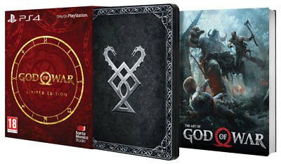 God of War Limited Edition PAL ITA PS4 PlayStation 4 COME NUOVA!!