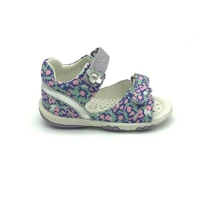 Geox Baby Nicely White First Steps Girls Sandal 50/% OFF RRP